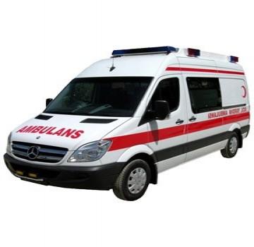 تامین وتجهیز خودرو آمبولانس